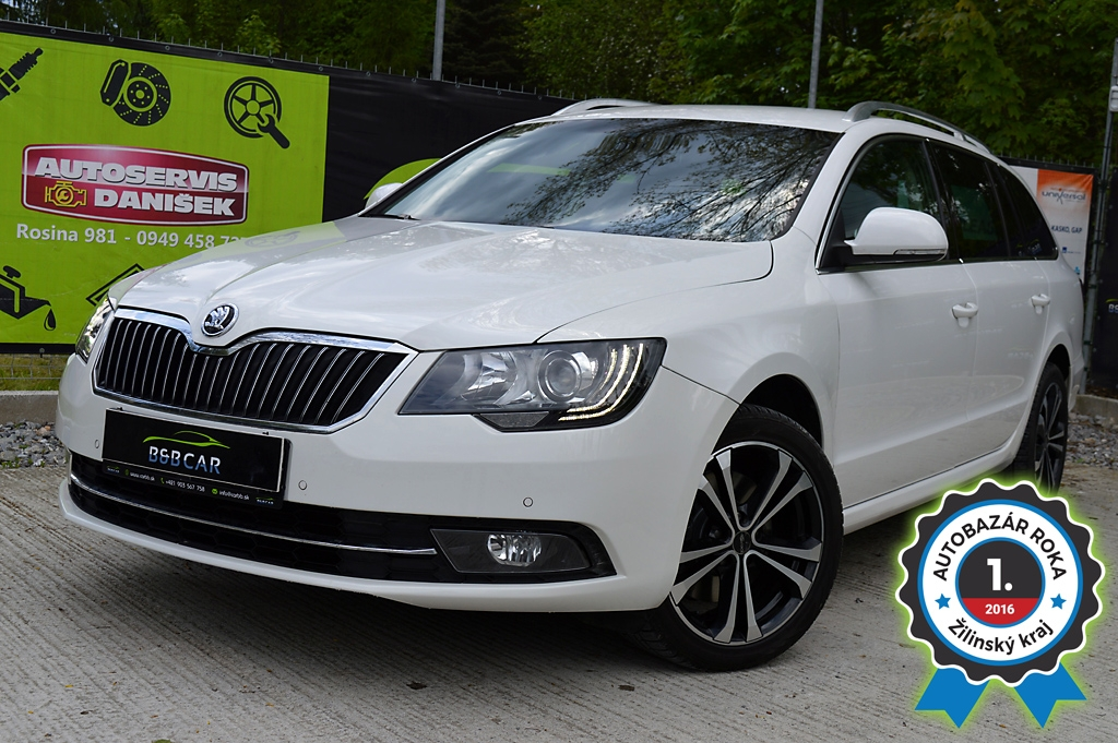 ŠKODA SUPERB COMBI 2.0 TDI CR Ambition