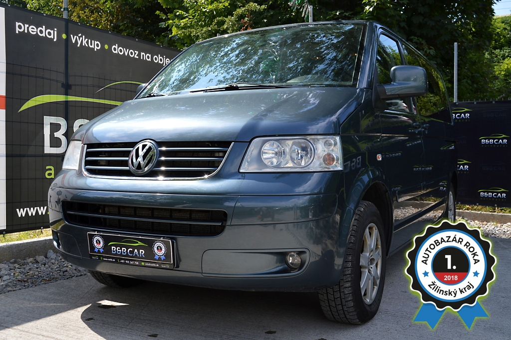 Volkswagen T5 Multivan 2.5 TDI 128kW 4-Motion