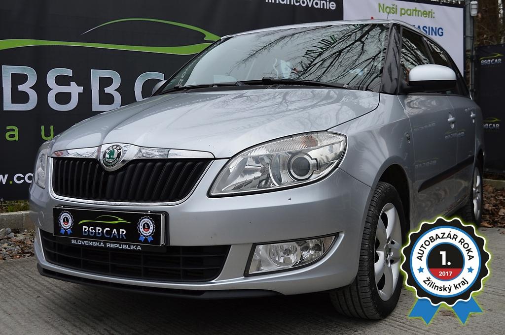 Škoda Fabia II 1.6 TDI 90k Elegance Green Tec