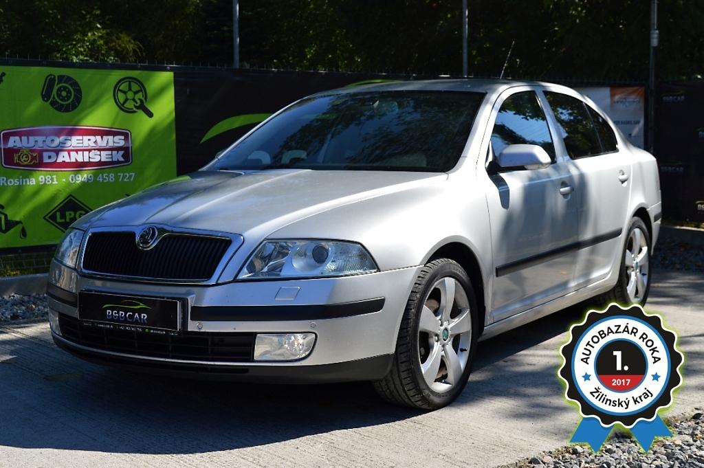 Škoda Octavia II 2.0 TDI Elegance