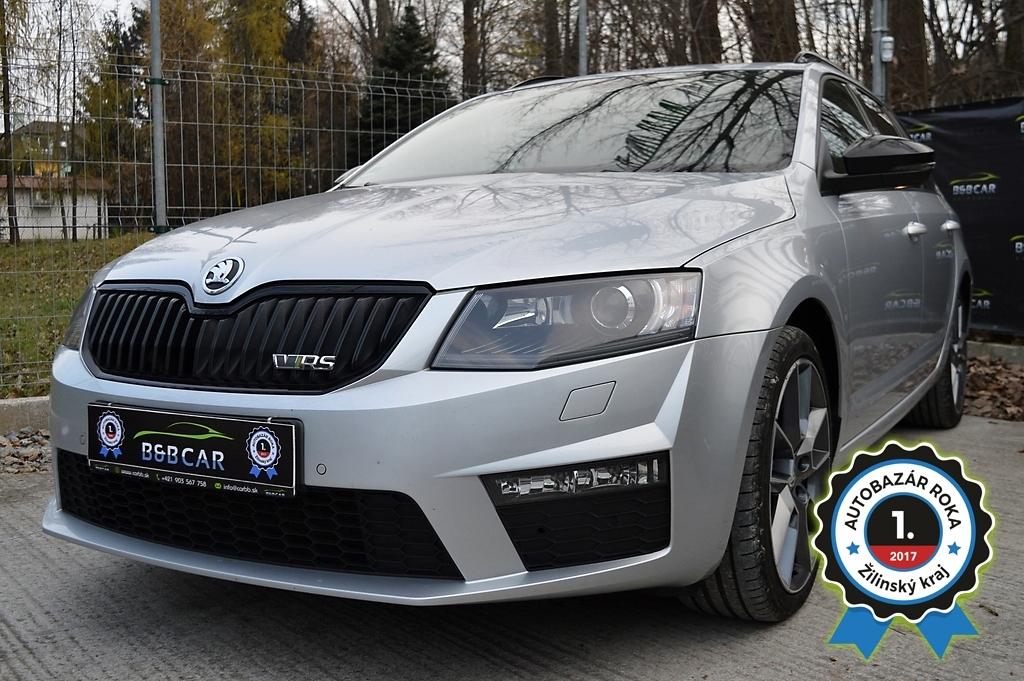 Škoda Octavia Combi III 2.0 TDI DPF RS DSG