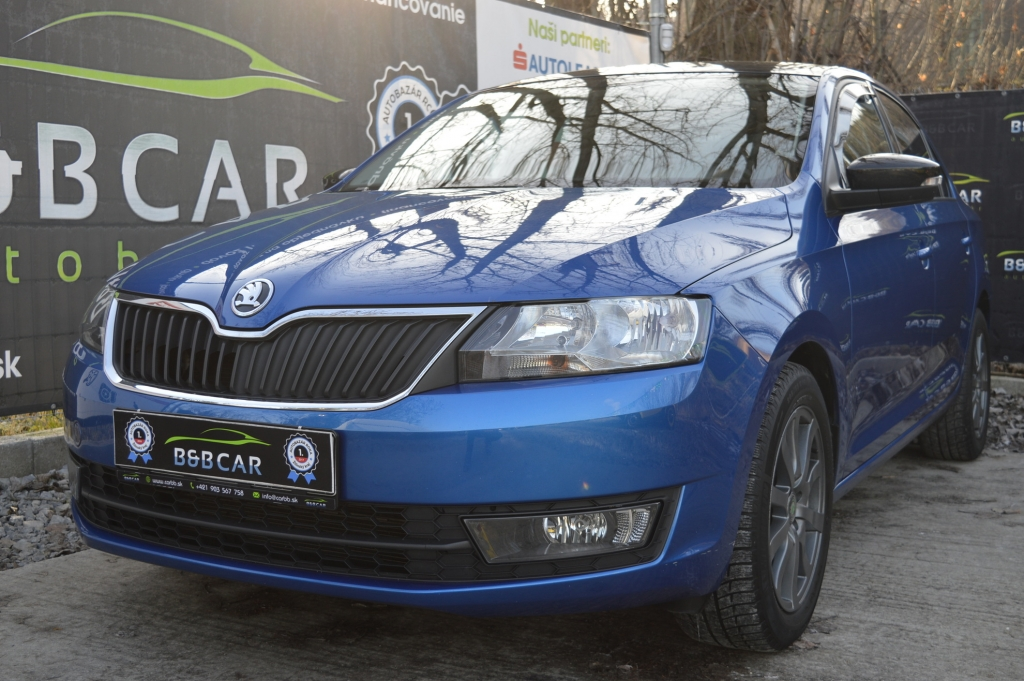 Škoda Rapid 1.2 TSI 110k Tour de France Style