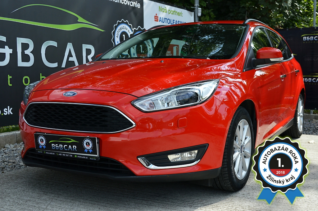 Ford Focus Combi Bussiness edition Xenon  1.5 TDCI 88kW