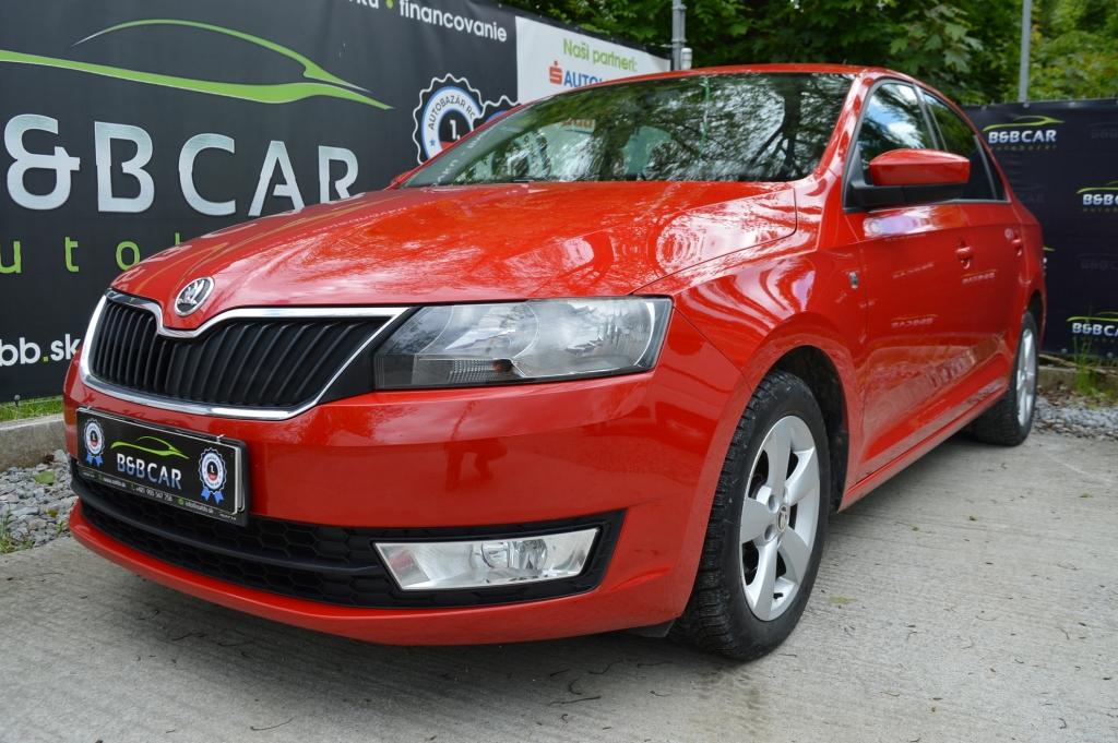 Škoda Rapid 1.2 TSI 63 kW