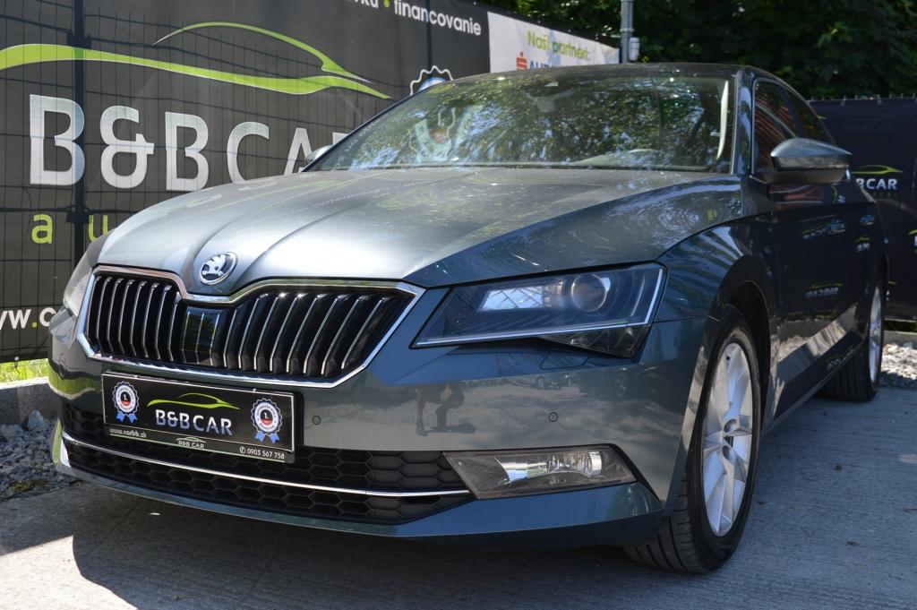 Škoda Superb 2.0 TDI 110kW