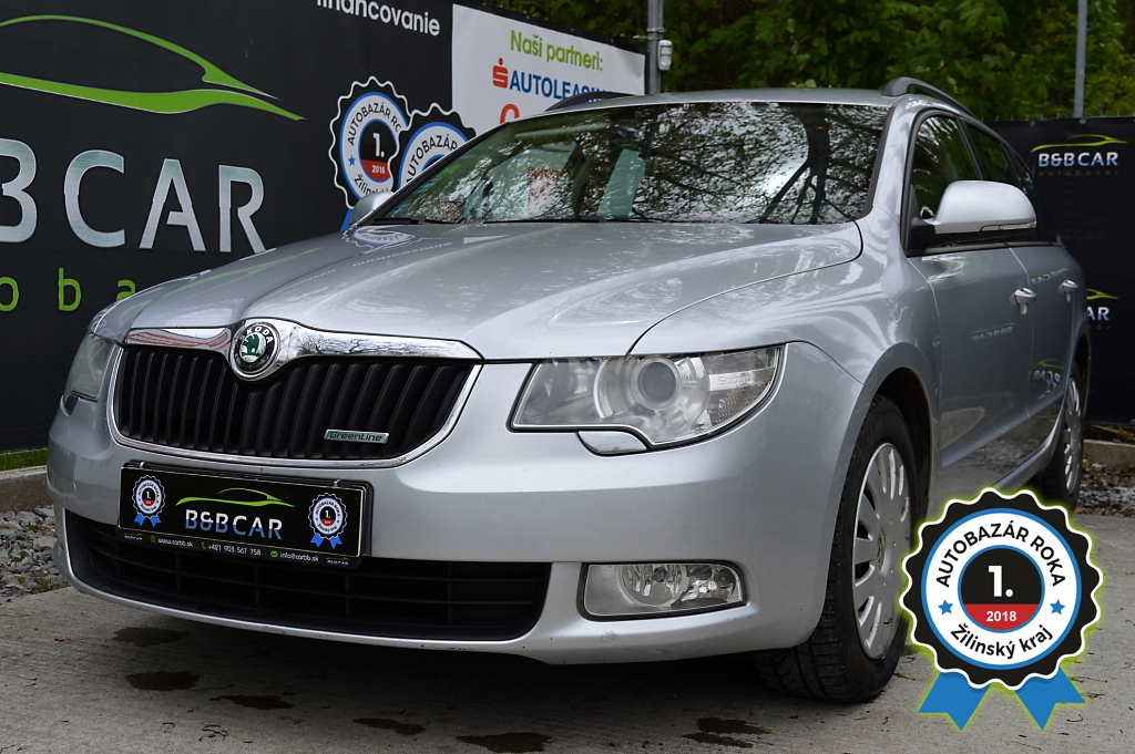 Škoda Superb Combi 1.6 TDI Elegance 77kW