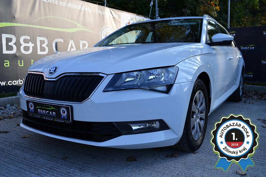 Škoda Superb Combi 2.0 TDI 110 kW