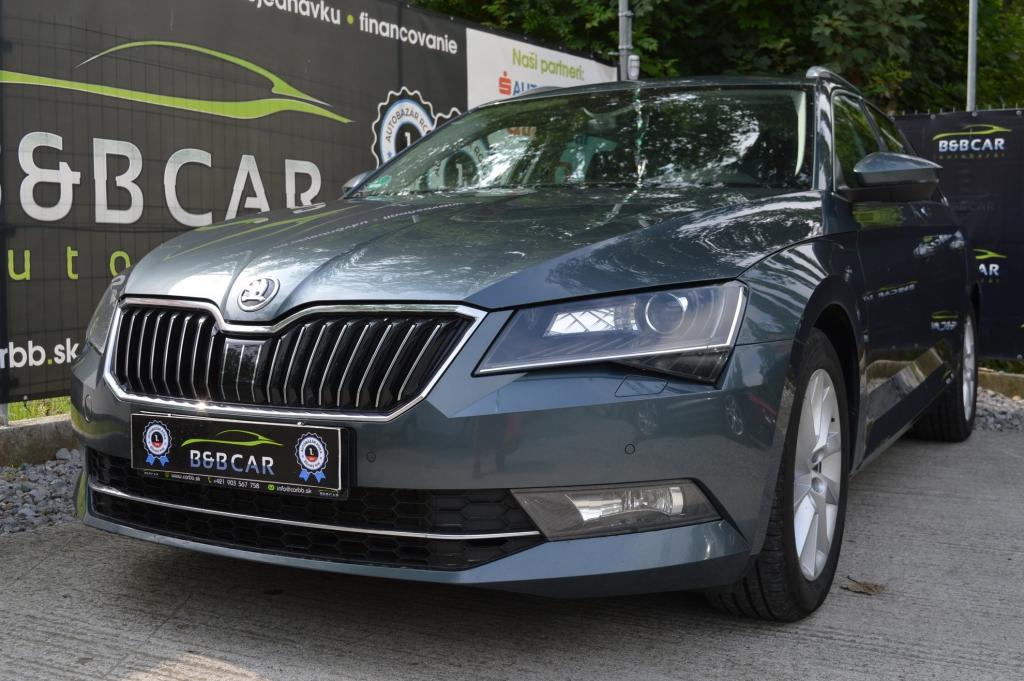 Škoda Superb Combi 2.0 TDI 140kW
