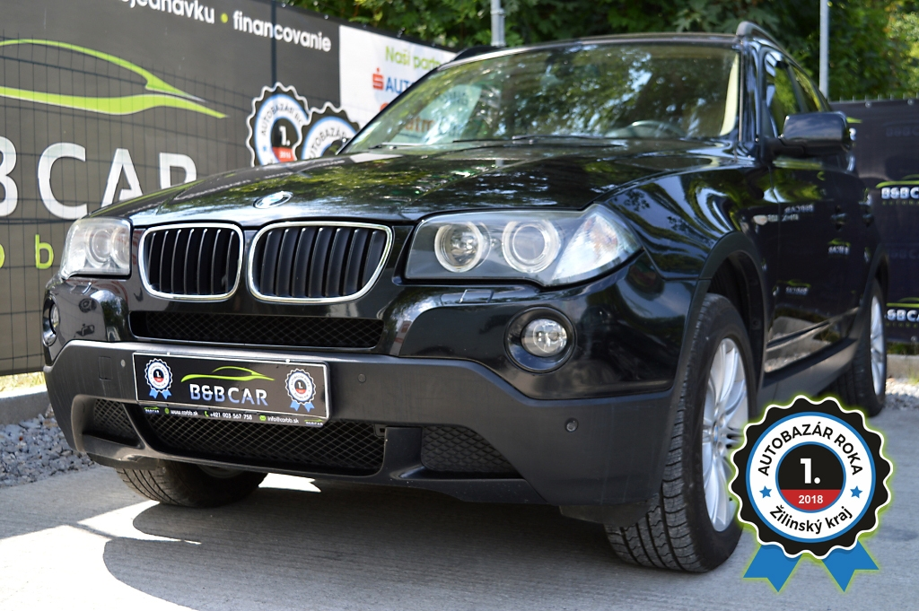 BMW X3 2.0i 110kW