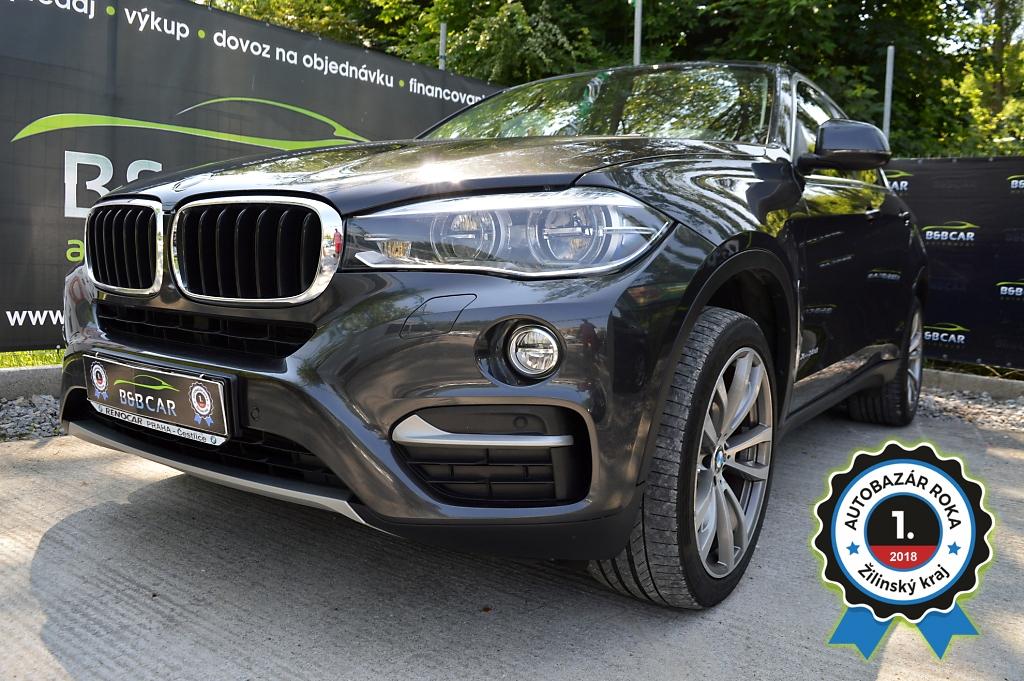 BMW X6 3.0d  190 kW  xDrive