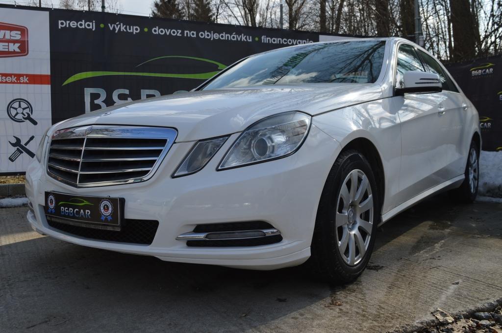 Mercedes E trieda E 200 CDI 100kW