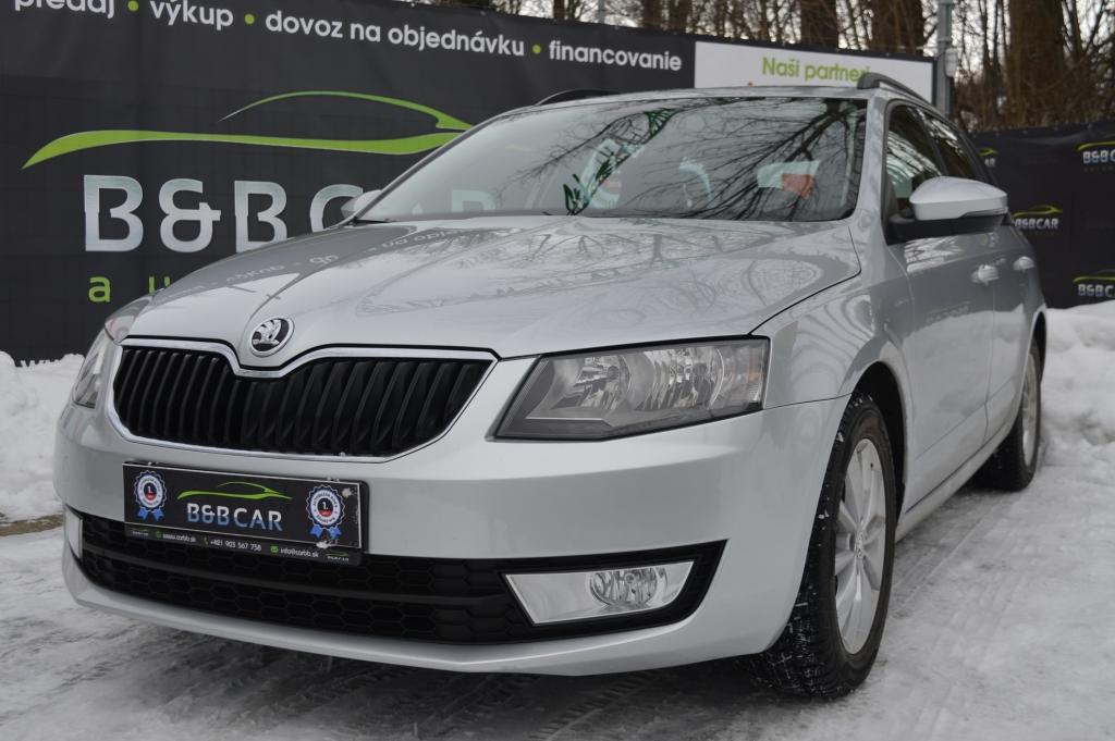 Škoda Octavia Combi III 1.6 TDI 110k Active DSG