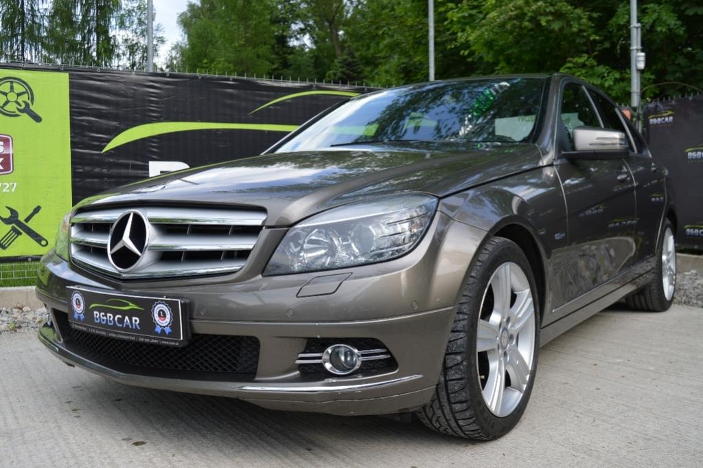 Mercedes C trieda 200 CDI BlueEfficiency Elegance A/T