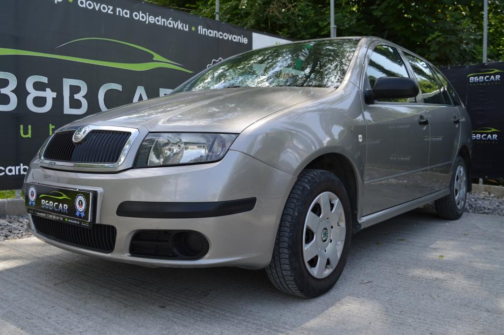 Škoda Fabia 1.2 i 47 kW