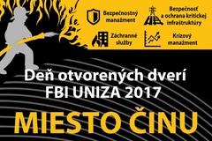 Deň otvorených dverí FBI UNIZA 2017