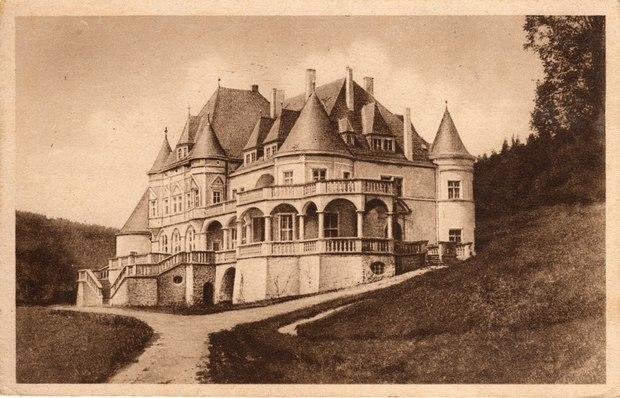 Kaštieľ Kunerad v 30. rokoch minulého storočia.