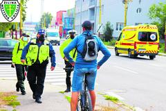 Rekordy v prehreškoch: Policajti kontrovali žilinských cyklistov
