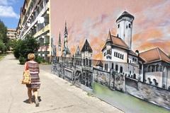 Skultúrňuje najväčšie žilinské sídlisko: Denisove maľby vyrážajú dych, FOTO