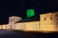 Budatínsky hrad svietil na zeleno