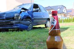 Na Veľký piatok ukradol auto a opitý havaroval