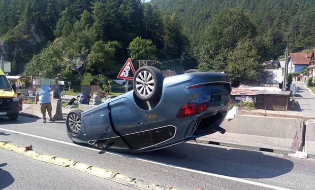 Dopravné obmedzenie pod Strečnom