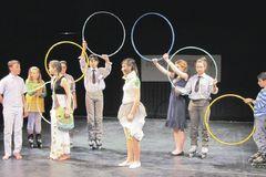 Mladí divadelníci predviedli svoj talent