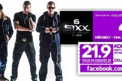 Formácia 4D v Sixx Music Clube v Čadci