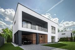 Projekt VILADOMY: Tri nízkoenergetické domy s jednoduchým prístupom priamo do centra Žiliny