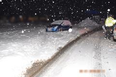 Šofér zo Žiliny zapadol v snehu. Polícia u neho zistila alkohol