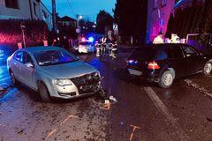 Nehoda na križovatke Hlbokej cesty a Janka Kráľa: Tri študentky skončili v nemocnici, FOTO