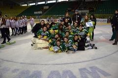 Mladé žilinské hokejistky skončili tretie