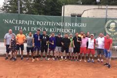 Tenisový turnaj v Rajeckých Tepliciach ovládol domáci pár