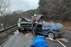 Tragická dopravná nehoda na Orave: zomrel mladý človek, FOTO