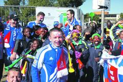 Viktor Kríž pravidelne cestuje za hviezdami svetového športu