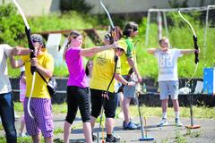 V Žiline súťažili najlepší mladí lukostrelci z celého Slovenska