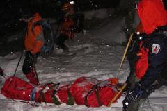 Horolezec zo Žiliny prežil pád lavíny