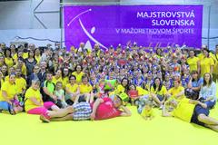 Fanklub Dianiek a 15. ročník majstrovstiev Slovenska v mažoretkovom športe v Hlohovci