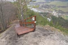 Rozhľadňa Špicák s novinkami: pri drevenej veži pribudlo schodisko aj posedenie