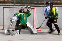 Žilinskí hokejbalisti nestačili v derby na domáci Martin