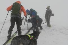 V Malej Fatre uviazli cez trojkráľový víkend turisti aj skialpinisti