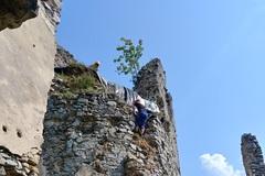 Na Starom hrade dočasne uzavreli jeho najvzácnejšiu časť - vežu