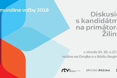 Komunálne voľby 2018 Žilina - predvolebná diskusia