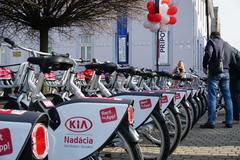 Žilinčania môžu bicyklovať. Mestské bicykle sú už dostupné
