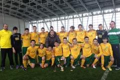 MŠK ŽILINA U-14 na prestížnom turnaji v Petrohrade s bronzovými medailami