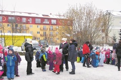 Zimný športový deň v škôlke