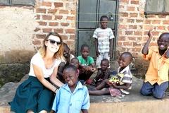 Na pol roka odišla z domova, aby pomáhala deťom vAfrike