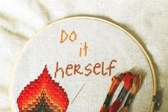 Do-it-herself: Ihla, niť a šálka čaju