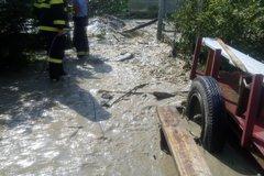 Hasiči zasahujú v súvislosti s dažďom aj v okolí Žiliny: Najhoršie je na tom Kotešová