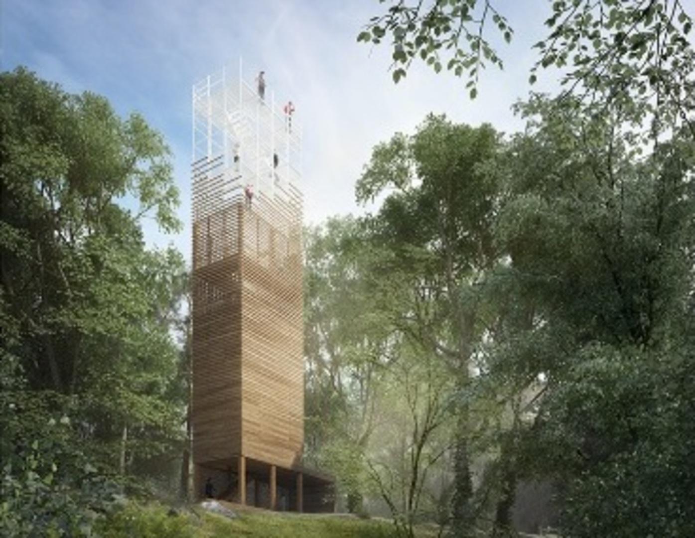 """d46742db6 V roku 2016 oblastná organizácia cestovného ruchu Malá Fatra vyhlásila  verejnú anonymnú architektonickú súťaž návrhov """"Vyhliadková veža na Dubni,""""  do ktorej ..."""