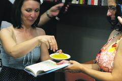 Katka Tekeľová krstila netradične – bezlepkovými cestovinami